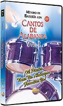 Alfred 62-ALD1D Mtodo con Cantos de Alabanza- Batera Vol. 1 - Music Book