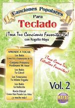 Alfred 62-CK2D Canciones Populares Para Teclado Vol. 2