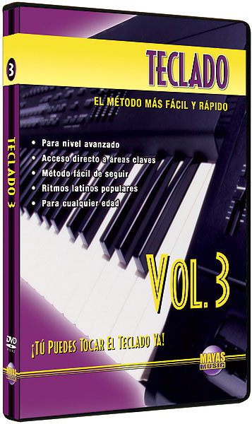 Alfred 62-K3D Teclado Vol. 3 - Music Book