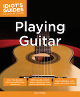 Alfred 74-1615644179 Idiots Guides As Easy As It Gets - Playing Guitar