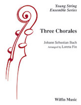 Alfred 76-45312 Three Chorales Conductor Score & Parts - 3