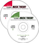 Alfred Publishing 00-17254 Essentials of Music Theory: Ear Training CDs 1 & 2 Combined - for Books 1-3