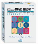 Alfred Publishing 00-18833 Essentials of Music Theory: Software Version 2.0 CD-ROM Student Version Complete Volume