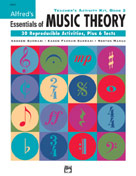 Alfred Publishing 00-20373 Essentials of Music Theory: Teacher's Activity Kit Book 2 - Music Book