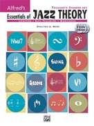Alfred Publishing 00-22008 Essentials of Jazz Theory Teacher s Answer Key - Music Book