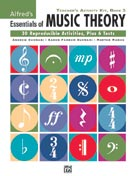 Alfred Publishing 00-26321 Essentials of Music Theory: Teacher's Activity Kit Book 3 - Music Book