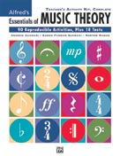Alfred Publishing 00-26327 Essentials of Music Theory: Teacher's Activity Kit Complete - Music Book