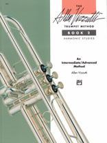 Alfred Publishing 00-3392 The Allen Vizzutti Trumpet Method - Book 2 Harmonic Studies - Music Book