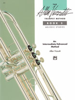 Alfred Publishing 00-3393 The Allen Vizzutti Trumpet Method - Book 3 Melodic Studies - Music Book