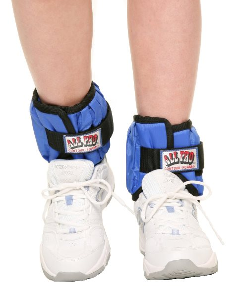 All Pro Exercise Products ALP10010LB Adjustable 10 lbs Ankle Weights Pair