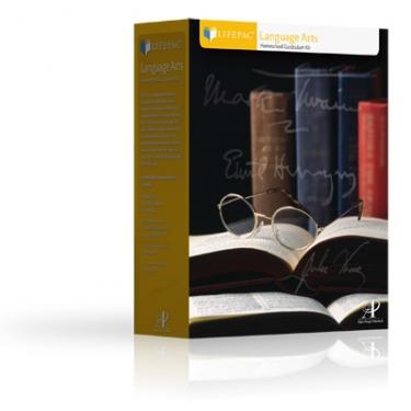 Alpha Omega Publications LAN 0115 First Grade Language Arts Set