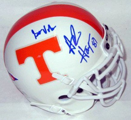 Alvin Harper Tennessee Volunteers NCAA Autographed Mini Helmet