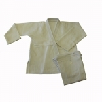 Amber Sporting Goods JJ-W-4 Jui Jitsu Uniform White Size 4