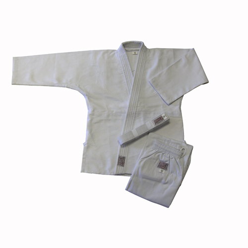 Amber Sporting Goods JUDO-S-W-00 Judo Uniform Double Weave White Size 00