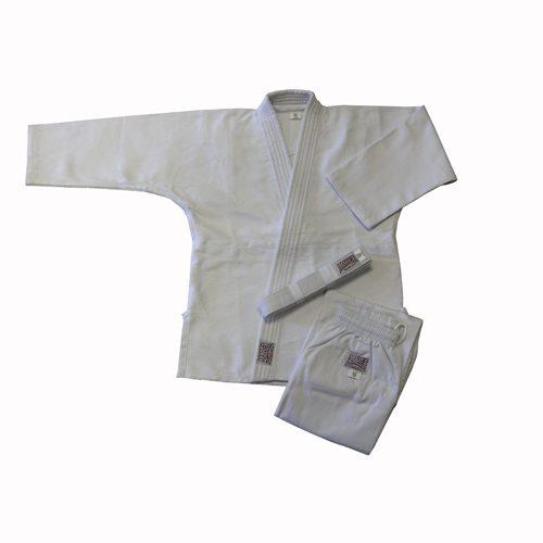 Amber Sporting Goods JUDO-S-W-4 Judo Uniform Double Weave White Size 4