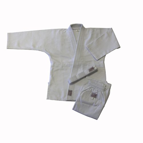 Amber Sporting Goods JUDO-S-W-9 Judo Uniform Double Weave White Size 9
