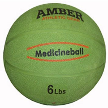 Amber Sporting Goods RMB-6 Rubber Medicine Ball 6lb