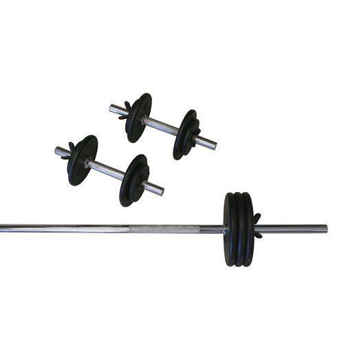 Amber Sporting Goods RS-110 Regular 110lb Weight Set