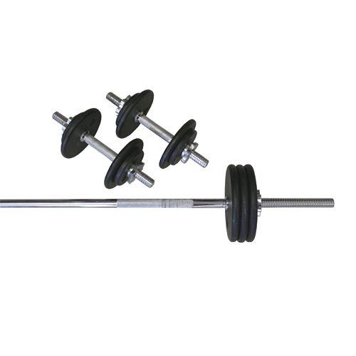 Amber Sporting Goods RS-110T Threaded 110lb Weight Set