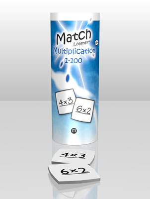American Educational ML0053 Match Learner Multiplication