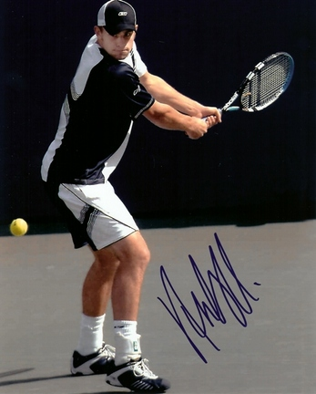 "Andy Roddick Autographed Tennis 8"" x 10"" Photograph (Unframed)"