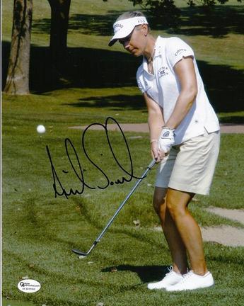 "Annika Sorenstam ""Action"" Autographed 8"" x 10"" Photograph (Unframed)"