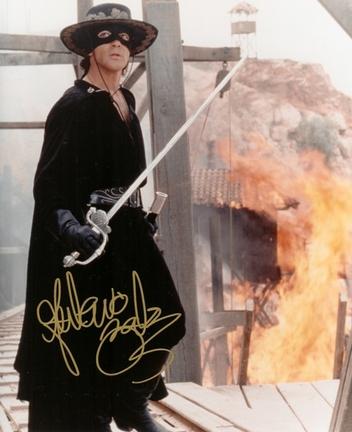 "Antonio Banderas Autographed ""Zorro"" 8"" x 10"" Photograph (Unframed)"
