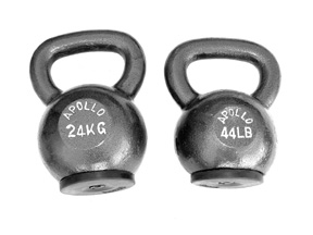 Apollo Athletics KB-28 Kettlebell - 62 lbs.
