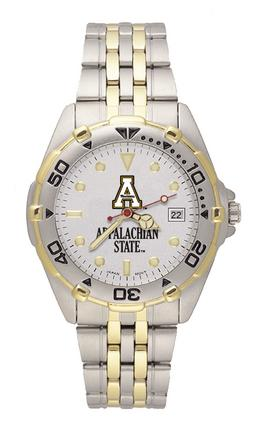 Appalachian State Mountaineers Men's All Star Watch with Bracelet Strap