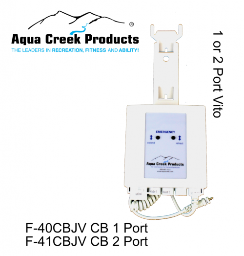 Aqua Creek Products F-41CBJV Titan & Pro Spa Revolution Vito Controls Scout Replacement Control Box