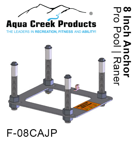Aqua Creek Products F-822 2.49 x 1.95 in. Anchor Sleeve Plastic Scout