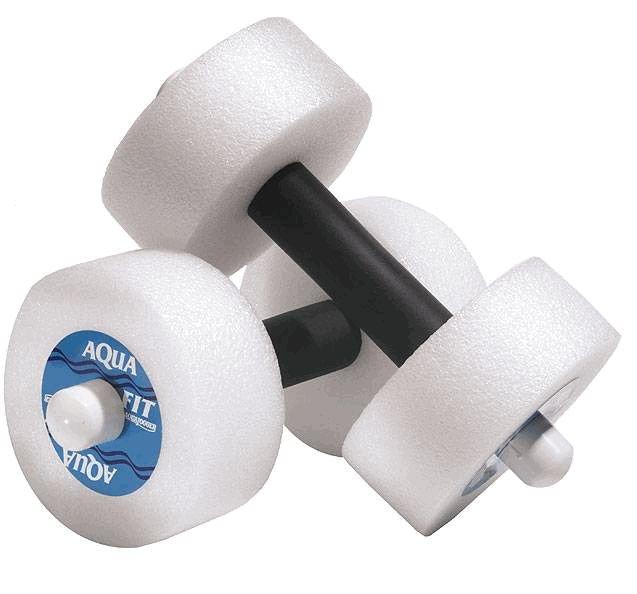 Aqua Jogger AP118 AquaFit Pro Barbells Round White AquaJogger