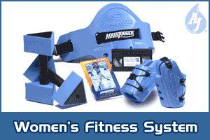 Aqua Jogger AP455 Womens Fit Kit Blue AquaJogger