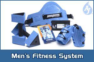Aqua Jogger AP460 Mens Fit Kit Blue AquaJogger