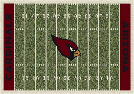 "Arizona Cardinals 3' 10"" x 5' 4"" Home Field Area Rug"