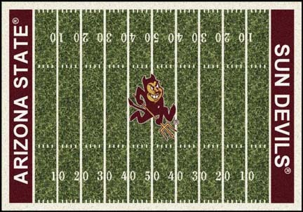 "Arizona State Sun Devils 3' 10"" x 5' 4"" Home Field Area Rug"