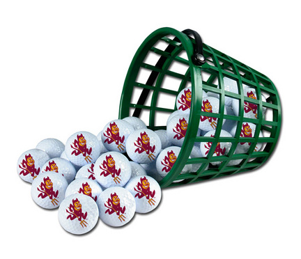 Arizona State Sun Devils Golf Ball Bucket (36 Balls)