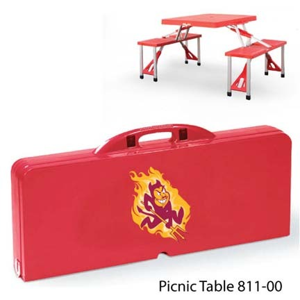 Arizona State Sun Devils Portable Folding Table and Seats