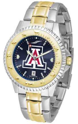 Arizona Wildcats Competitor AnoChrome Two Tone Watch