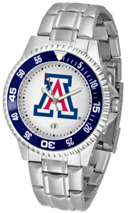 Arizona Wildcats Competitor Men's Watch with Steel Band