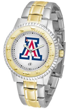 Arizona Wildcats Competitor Two Tone Watch