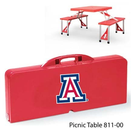 Arizona Wildcats Portable Folding Table and Seats