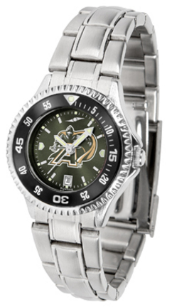 Army Black Knights Competitor AnoChrome Ladies Watch with Steel Band and Colored Bezel