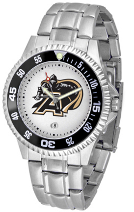 Army Black Knights Competitor Watch with a Metal Band