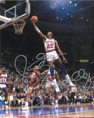 Athlon CTBL-014535 John Salley Signed Detroit Pistons Photo - 8 x 10