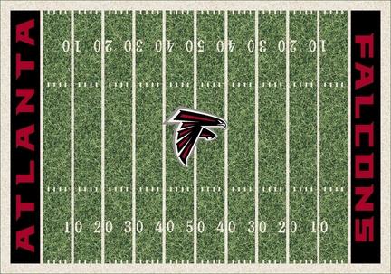"Atlanta Falcons 3' 10"" x 5' 4"" Home Field Area Rug"