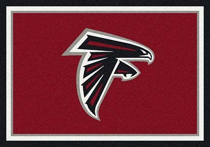 "Atlanta Falcons 3' 10"" x 5' 4"" Team Spirit Area Rug (Red)"