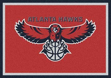 """Atlanta Hawks 3' 10"""" x 5' 4"""" Team Spirit Area Rug"""