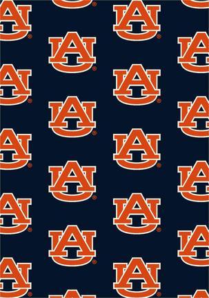 """Auburn Tigers 3' 10"""" x 5' 4"""" Team Repeat Area Rug"""