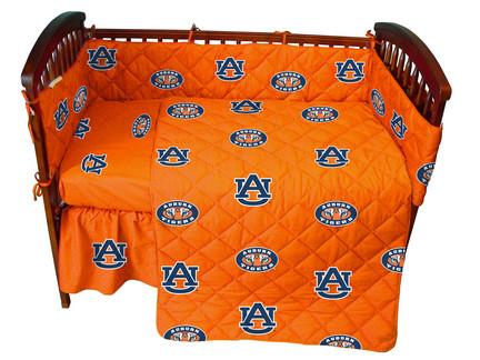 Auburn Tigers Baby Crib Set